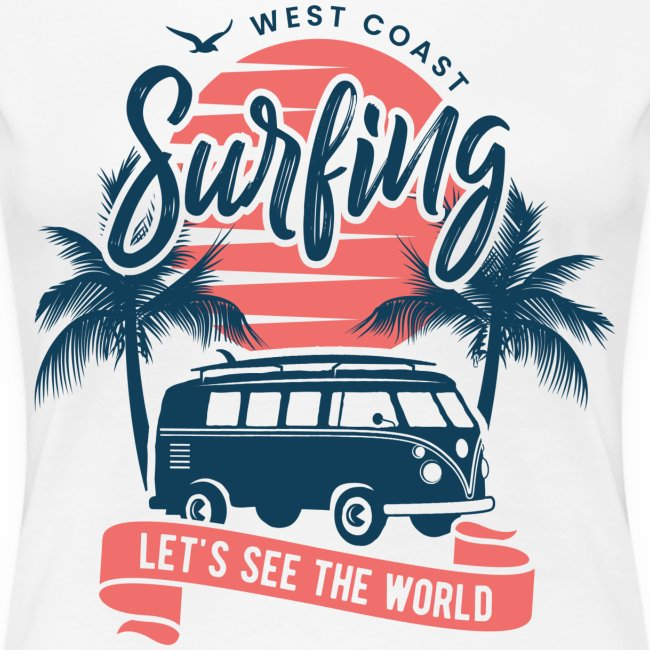 Wes coast surfing