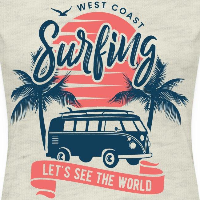 Wes coast surfing