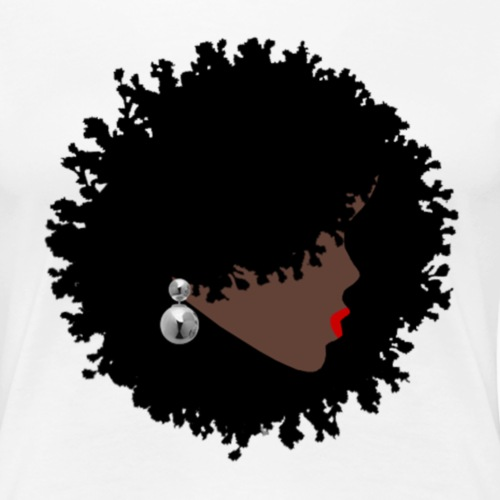Natural Black Woman - Women's Premium T-Shirt