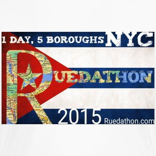 2015 Ruedathon - Women's Premium T-Shirt