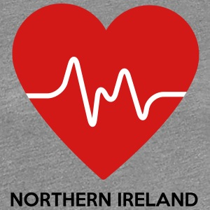 Heart Northern Ireland - Women's Premium T-Shirt