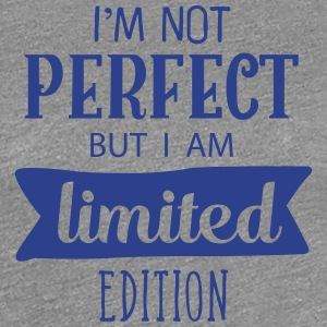 I AM NOT PERFECT T-Shirt Design - Women's Premium T-Shirt