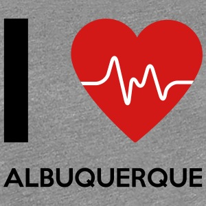 I Love Albuquerque - Women's Premium T-Shirt