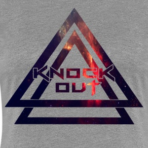 HIPSTER DESIGN KNOCK OUT - Women's Premium T-Shirt