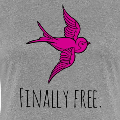 As Free As A Bird - Women's Premium T-Shirt