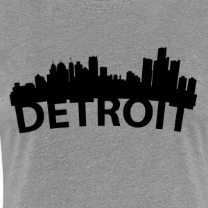 Arc Skyline Of Detroit MI - Women's Premium T-Shirt