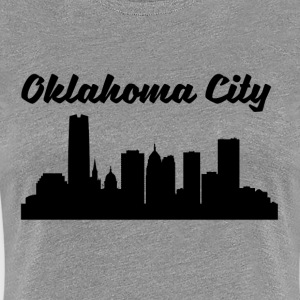 Oklahoma City OK Skyline - Women's Premium T-Shirt