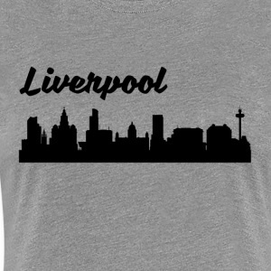 Liverpool Skyline - Women's Premium T-Shirt