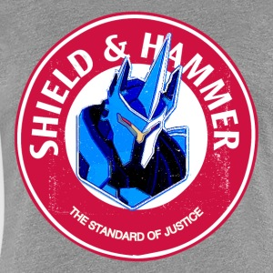 SHIELD AND HAMM3ER - Women's Premium T-Shirt
