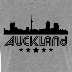 Retro Auckland Skyline - Women's Premium T-Shirt
