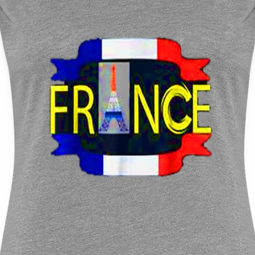 pairs France lover i love france t-shirt - Women's Premium T-Shirt