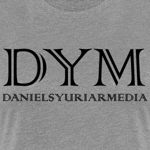 DY MEDIA FIRM STYLE LOGO - Women's Premium T-Shirt