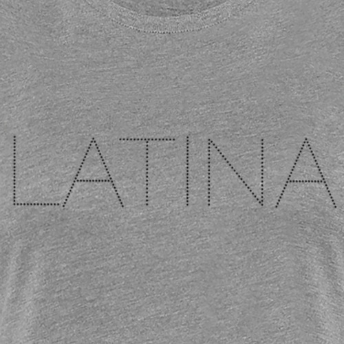Latina Black Bling - Women's Premium T-Shirt
