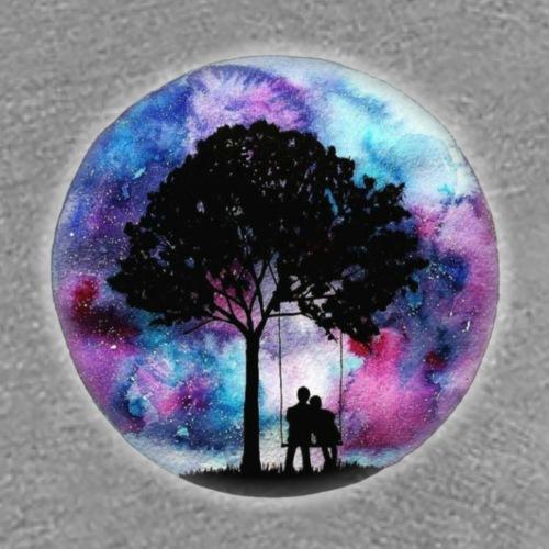 Love Through Galaxies - Women's Premium T-Shirt