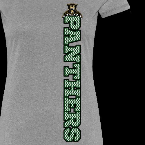 Panther Chevron - Women's Premium T-Shirt