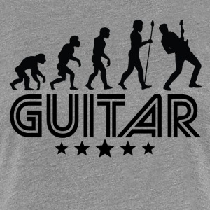 Retro Guitar Evolution - Women's Premium T-Shirt