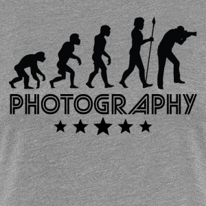 Retro Photography Evolution - Women's Premium T-Shirt