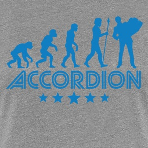 Retro Accordion Evolution - Women's Premium T-Shirt