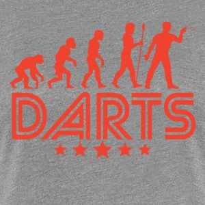 Retro Darts Evolution - Women's Premium T-Shirt