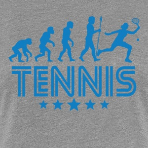 Retro Tennis Evolution - Women's Premium T-Shirt