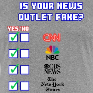 All About Fake News - Women's Premium T-Shirt