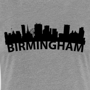 Arc Skyline Of Birmingham England - Women's Premium T-Shirt