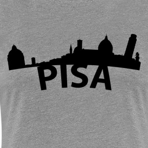 Arc Skyline Of Pisa Italy - Women's Premium T-Shirt