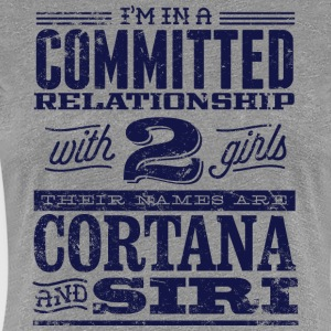 Cortana and Siri - Women's Premium T-Shirt