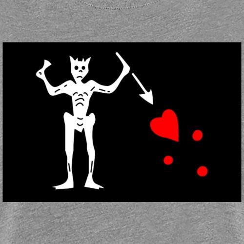 Flag of Blackbeard - Women's Premium T-Shirt
