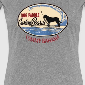 Tommy Bahama Men Crew Neck DOG PADDLE - Women's Premium T-Shirt