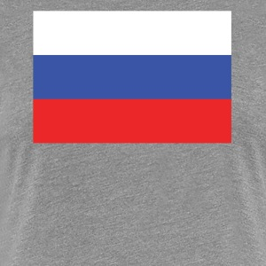 Flag of Russia Cool Russian Flag - Women's Premium T-Shirt