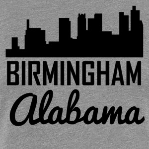 Birmingham Alabama Skyline - Women's Premium T-Shirt