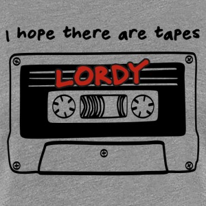 Lordy Tapes - Women's Premium T-Shirt