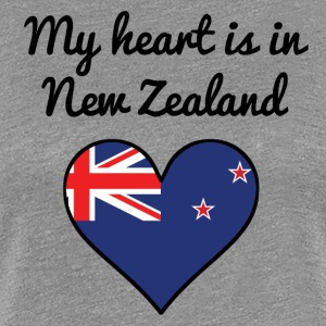 My Heart Is In New Zealand - Women's Premium T-Shirt