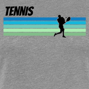 Retro Tennis - Women's Premium T-Shirt