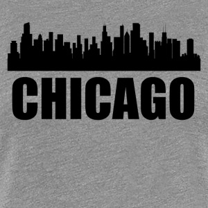 Chicago IL Skyline - Women's Premium T-Shirt