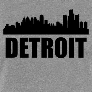 Detroit MI Skyline - Women's Premium T-Shirt