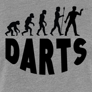 Darts Evolution - Women's Premium T-Shirt