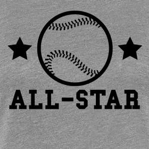 Baseball All Star - Women's Premium T-Shirt