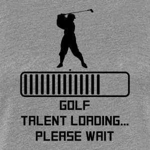 Golf Talent Loading - Women's Premium T-Shirt