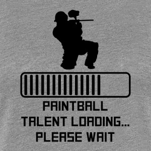 Paintball Talent Loading - Women's Premium T-Shirt