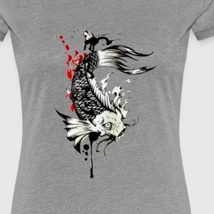 koi fish - Women's Premium T-Shirt