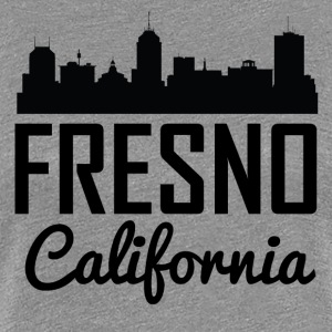 Fresno California Skyline - Women's Premium T-Shirt
