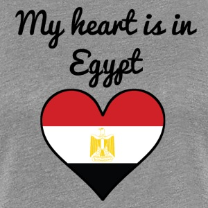 My Heart Is In Egypt - Women's Premium T-Shirt