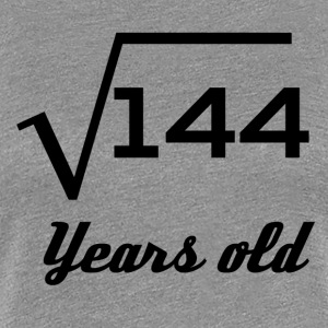 Square Root Of 144 12 Years Old - Women's Premium T-Shirt