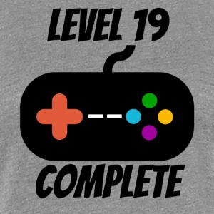 Level 19 Complete 19th Birthday - Women's Premium T-Shirt