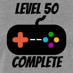 Level 50 Complete 50th Birthday - Women's Premium T-Shirt