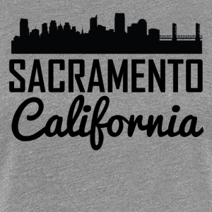Sacramento California Skyline - Women's Premium T-Shirt