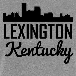 Lexington Kentucky Skyline - Women's Premium T-Shirt