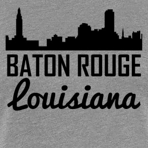 Baton Rouge Louisiana Skyline - Women's Premium T-Shirt